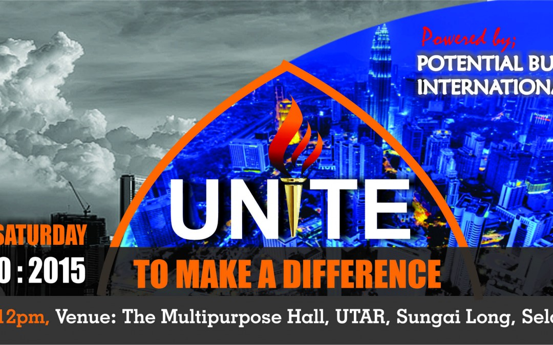 UNITE TO MAKE A DIFFERENCE